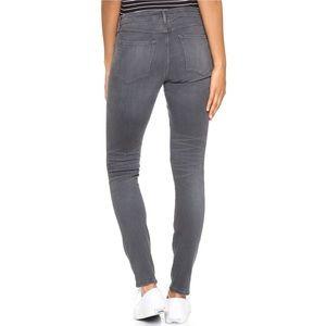 3X1 High Waist Skinny Distressed Jeans
